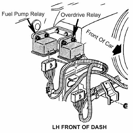 Location 94 Corvette On 86 Fuel Pump Relay on 1990 iroc wiring diagram